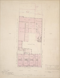 [Plan of the Boar's Head Brewhouse situated on the east side of Grays Inn Lane]